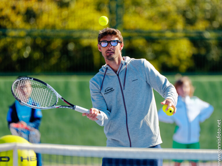 """Juan Carlos Ferrero: """" In something so new, trust is important and having positive experiences helps."""""""